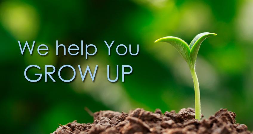 We Help You Grow Up